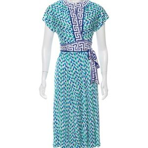Diana Von Furstenberg Svetlana Wrap Dress